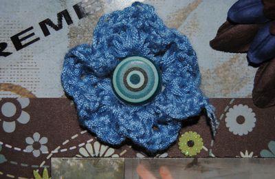Petite fleur en crochet