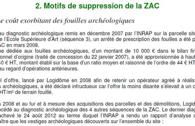 Suppresion de la ZAC Kessler-Rabanesse