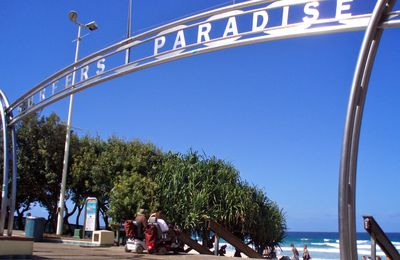 Australia Travel Memories - Surfer Paradise