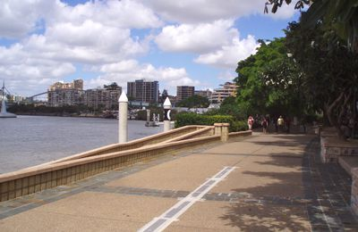 Australia - Travel Memories - Backpackers à Brisbane