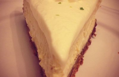 Key Lime Cheesecake - Recette Berko