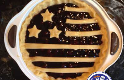 Blueberry Pie - Happy 4th of July