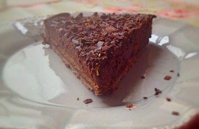 Tarte tout chocolat de Ladurée #2