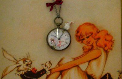 Sur les pas d'Alice... BONUS: Avez-vous vu un Lapin Blanc??