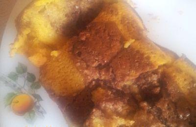 Cake Marbré au Potiron et au Chocolat