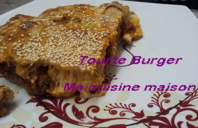 Tourte Burger de Ouissam