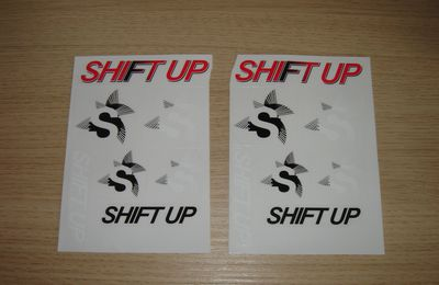 Stickers Shift-up