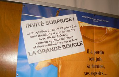 "Invité surprise au ""Select d'Antony"" pour la projection de ""La Grande Boucle"""