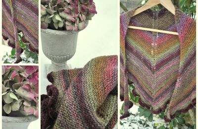 Miss Marple shawl