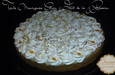Tarte Meringuée Citron & Fruit de la Passion