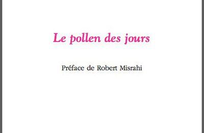 Le pollen des jours. Valérie Debieux. La cause littéraire