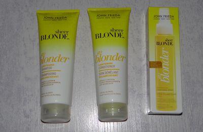 Mon objectif capillaire : devenir blonde avec Go Blonder de John Frieda
