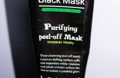 [Revue] Purifying peel-off mask - Shills