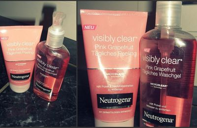 #168 Neutrogena Visibly Clear Pink Grapefruit