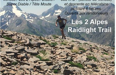 Association SMAG / 2 Alpes Raidlight Trail