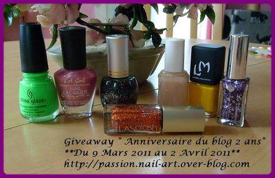 Giveaway: Anniversaire du blog, 2 ans chez Juicy Nails