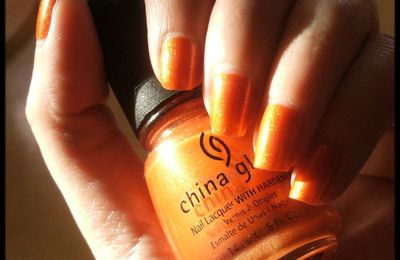 China Glaze: Orange Marmalade