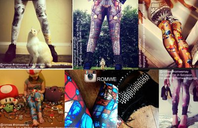 Enter for Romwe Contest on Instagram!