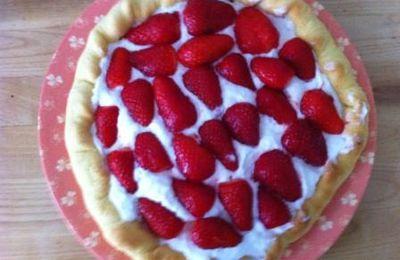 la tarte aux fraises de Lassaad