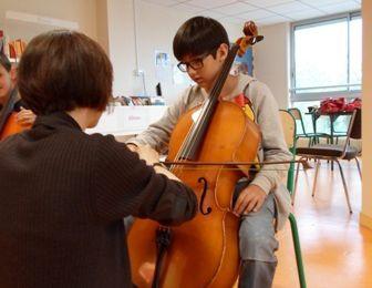 Atelier découverte de la musique...