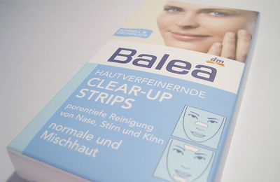 (#488) Review: Balea Hautverfeinernde Clear-up Strips