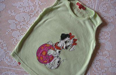 Tee-shirt dalmatien