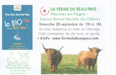 WEEK END 27 ET 28 SEPTEMBRE - MOUSTIER EN FAGNE