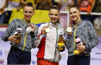 World Games 2013 podium