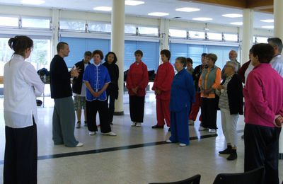 COMPTE-RENDU STAGE QI GONG du 27 AVRIL 2013