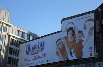 Liège, place St-Etienne: Viva for Life