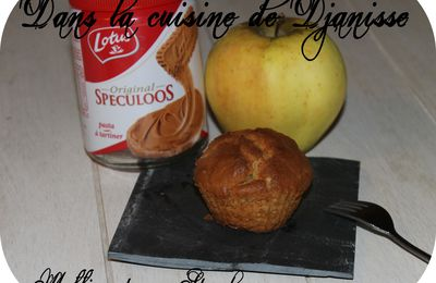 MUFFINS POMME SPECULOOS