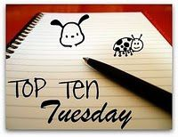 Top ten tuesday [12]