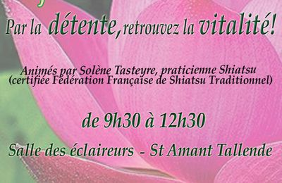 ATELIERS de DO-IN et SHIATSU