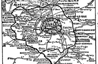 Chemin de fer de ceinture - Paris 1893