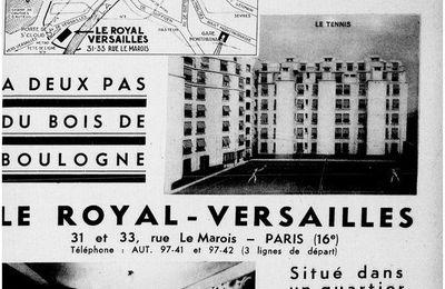 Pub hôtel en 1934 Paris