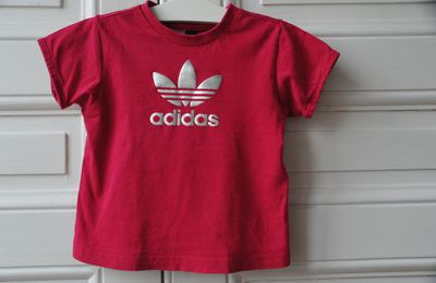 Tee shirt fushia - Adidas - 3 ans