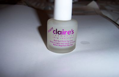 Essai Top Coat Matt Claire's