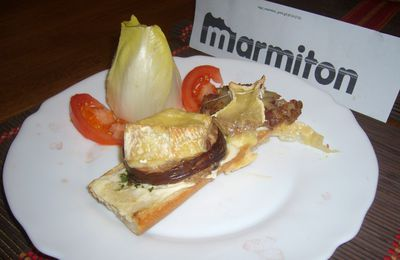Tartines normandes