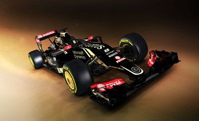 Lotus E 23 2015 compatatif technique avec la Lotus E 22