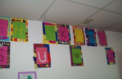 Abécédaire mural - Atelier Papillon -