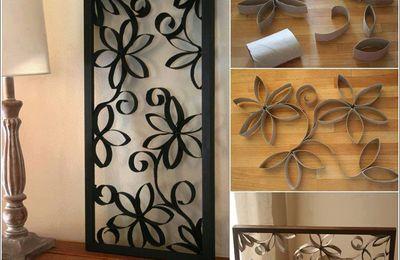 avec des rouleaux de papier de toilette le blog de. Black Bedroom Furniture Sets. Home Design Ideas