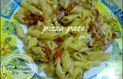 Pizza-pâtes :