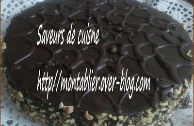 Gâteau à la crème de moka: