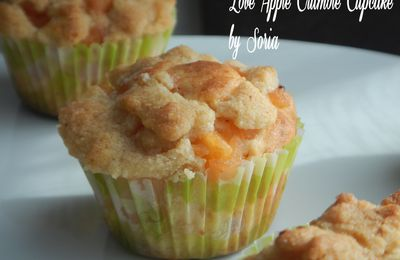 Love Apple Crumble Cupcake