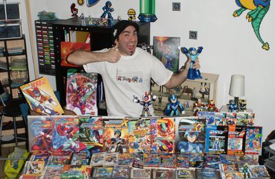 La collection Megaman de GEEK PIXEL
