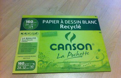 Le papier à dessin écolo