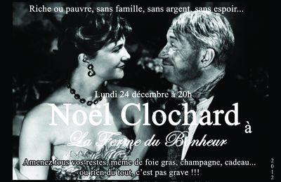 Lundi 24 décembre 2012 à 20h - Noël Clochard à la Ferme du Bonheur