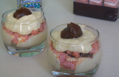 Tiramisu à la crème de marrons, girly et gourmands ^^