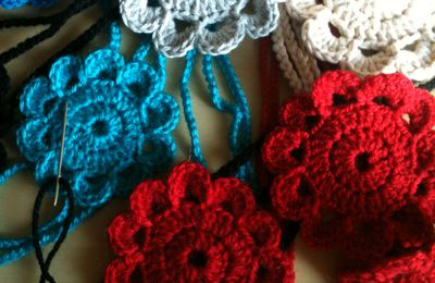 quelques headbands au crochet