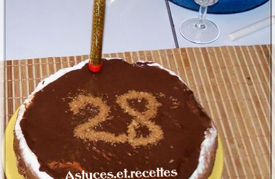 Gateau au 3 chocolats